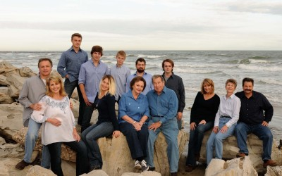 Family photography on Galveston Island