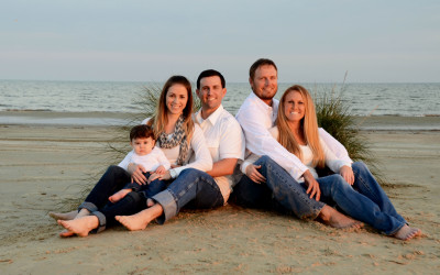 Family photography Galveston area beaches